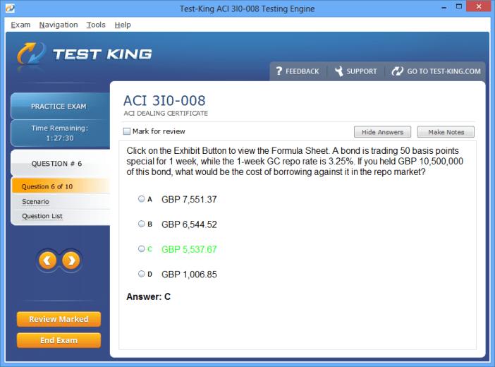 Aci forex dealing certificate