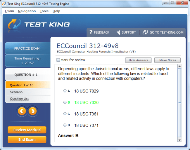 312-49v8 Testking ECCouncil Exam Questions - CHFI Certification with ...