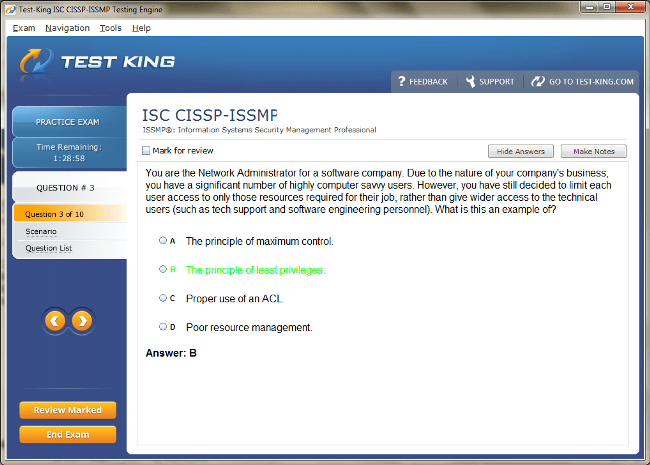 CISSP-ISSMP Sample 3