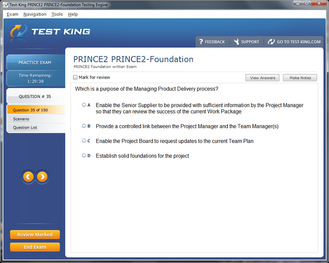 PRINCE2-Foundation Sample 2